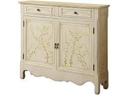 powell scroll console table powell furniture living room white hand painted 2 door console 246