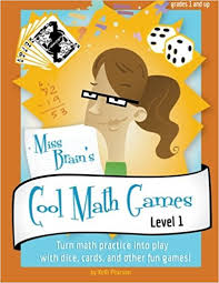 miss brain u0027s cool math games kelli pearson 9780985572501 amazon