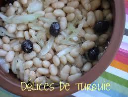 cuisiner haricots blancs secs mézé de haricots blancs piyaz délices de turquie et d ailleurs