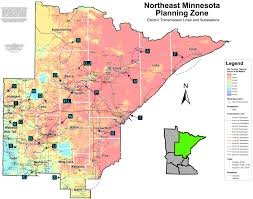 Ne Map Minnesota Electric Transmission Planning