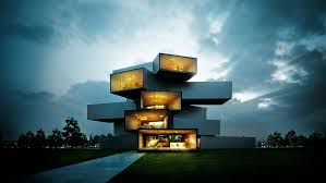 technology house mrs tulumba modern house portfolio work evermotion