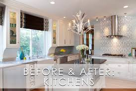 glamorous modern kitchen before and after robeson design robeson