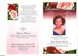 Custom Funeral Programs 100 Custom Funeral Programs Personalize Christ And