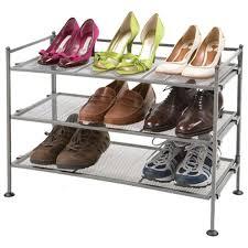 vancouver classics 3 tier mesh shoe rack