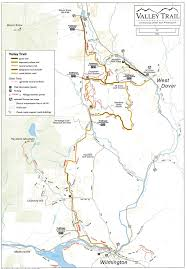Map Of Vermont Towns Trails And Hiking Wilmington Vt Wilmington Vt Wilmington