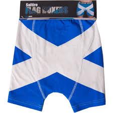 Scottish Flag Tattoo Scotland Flag Boxers
