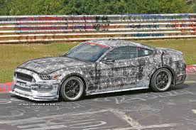 2016 Bronco Svt 2016 Ford Mustang Svt Spied At The Nurburgring