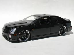 black cadillac sts v glass model cars magazine forum