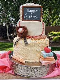 baseball themed wedding cakes by carla and baseball themed wedding cake