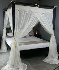 four poster bed canopy mosquito net cream standard 155cm x 205cm four poster bed canopy mosquito net cream standard 155cm x 205cm queen size