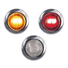 red led marker lights mini button dual revolution amber red led marker light raney s