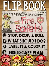 fire safety flip book no fuss no prep fire safety flip