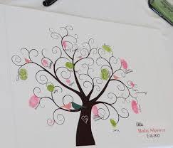 44 best baby shower fingerprint trees images on pinterest baby