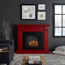 real flame silverton 48 in freestanding electric fireplace in