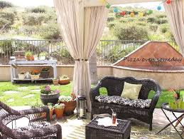 Patio Drapes Outdoor Best 25 Outdoor Drapes Ideas On Pinterest Patio Curtains