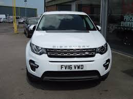 land rover discovery sport white used fuji white land rover discovery sport for sale lincolnshire