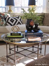 Cowboy Table Decorations Ideas Coffee Tables Appealing Round Glass Coffee Table Decorating