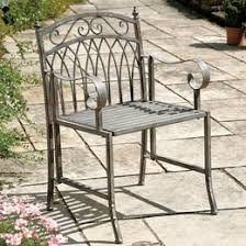 Patio Furniture Metal Metal Garden Furniture Wayfair Co Uk