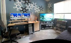Dual Monitor Gaming Desk Pc Setups Reddit Gaming Setup For Beginners Pc Room Setup Life