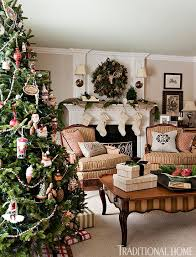 living rooms decorated for christmas decorating christmas trees traditional home