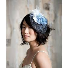 fascinators for hair 5 hair accessories for hair blue fascinator