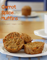carrot spice muffins recipe from fatfree vegan kitchen