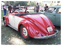 volkswagen old red vw beetle convertible hebmüller 1950 437 696 vw porsch u2026 flickr