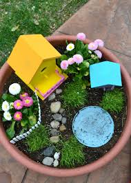 Mini Fairy Garden Ideas by Real Life One Day At A Time A Fairy Garden