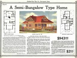 sears catalog homes floor plans gordon van tine 158 in west tulsa oklahoma houses by mail