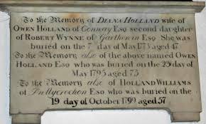 conwy holland memorials