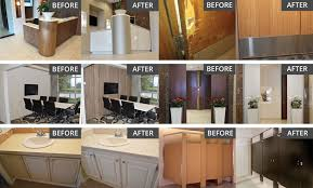 can you resurface laminate cabinets cabinet reface laminate refacing dackor