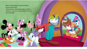 easter mickey mouse disney mickey mouse clubhouse easter hunt awesome storybook for