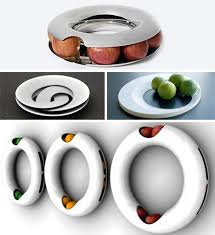 modern fruit holder literally off the wall how about dispensing your fruit off the