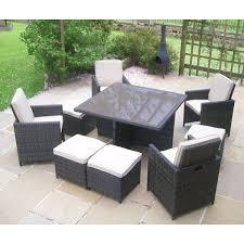 Rattan Garden Furniture White Outdoor Garden Furniture Set For Outdoor Activity Stylishoms