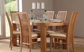 exciting solid oak dining room table and chairs images best