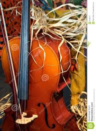 musical thanksgiving cello with a fall thanksgiving look royalty free stock photography