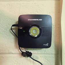 homelink garage door programming quick look chamberlain myq garage door opener and rachio iro
