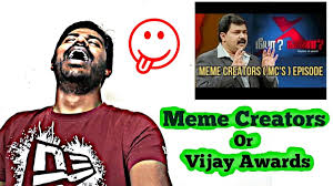 Meme Creators - neeya naana meme creators vs blogger episode or vijay awards