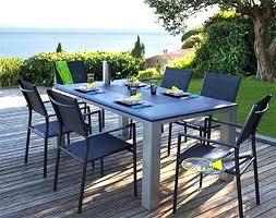 salon de jardin salon de jardin aluminium ensemble en bois teck huilac 10