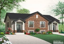 plan 38019lb duplex with 3 beds in each unit new home