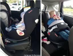 siège auto bébé dos à la route test le siège auto sirona de cybex cerise sur le berceau