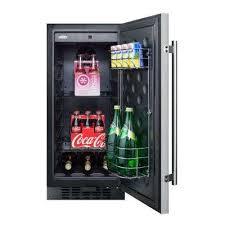 coca cola fridge glass door summit appliance mini refrigerators appliances the home depot