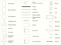 furniture drawings to scale for interior design floor plan symbols