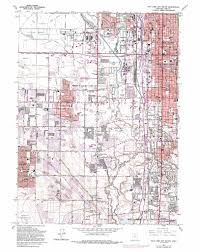 map salt lake city to denver salt lake city south topographic map ut usgs topo quad 40111f8