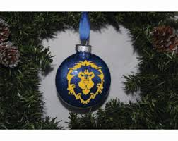 world of warcraft ornament etsy