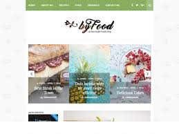 30 inspiring food wordpress themes for your blog recipes flashuser