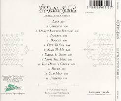 cd album the delta saints death letter jubilee dixiefrog