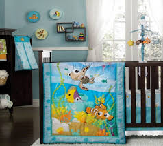 Nemo Bedding Set Disney Themed Baby Rooms For Neutral Gender With Finding Nemo