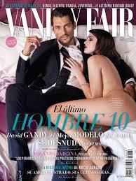 Monica Bellucci Vanity Fair Cover Of Vanity Fair Spain With David Gandy May 2014 Id 30604