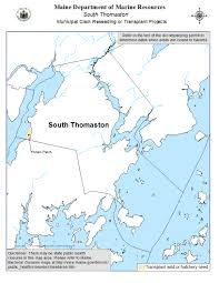 Map Maine Town Shellfish Ordinance Permit And Map Information Maine